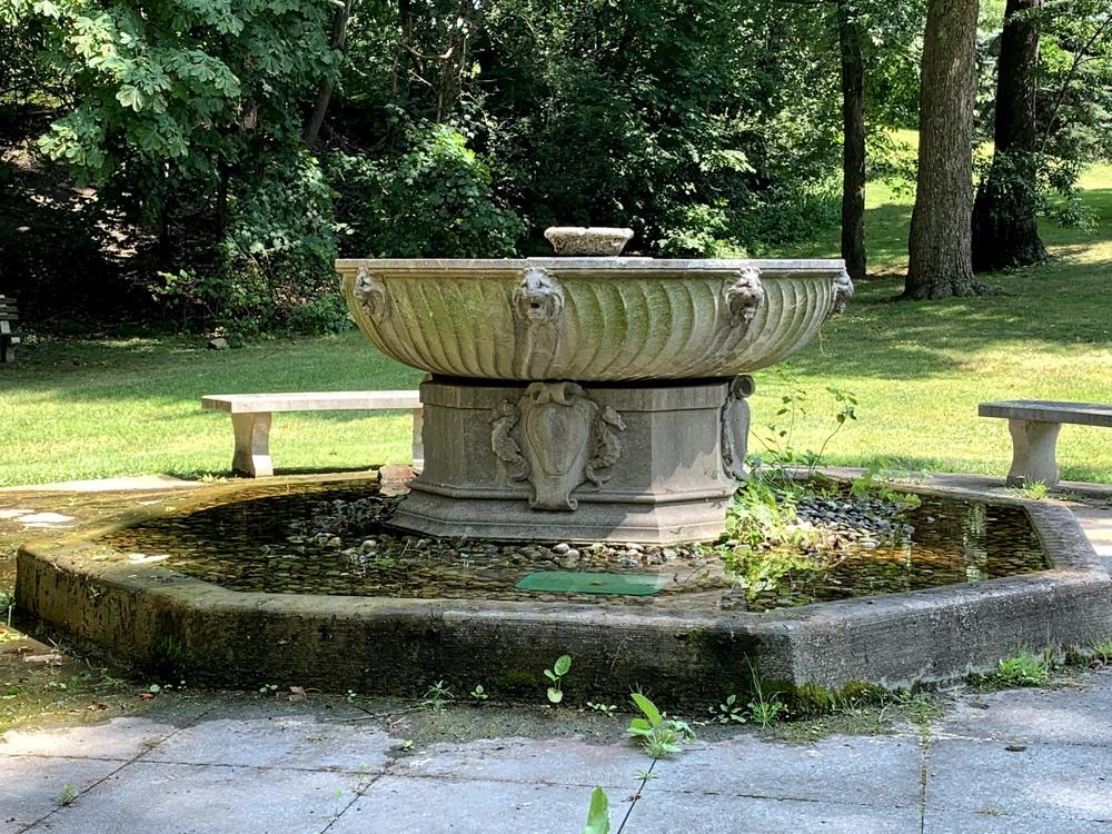 Albanian Cultural Garden Fountain