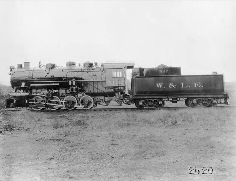 W. & L. E. Locomotive No. 5112, 1905