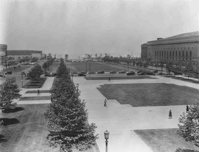 Mall, ca. 1930s