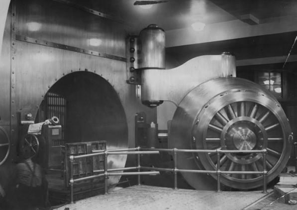 Federal Reserve Vault, 1923