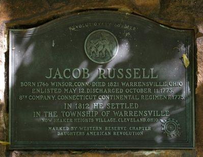 Honoring a Revolutionary War Soldier.
