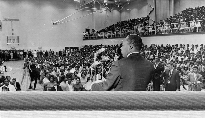 Martin Luther King Jr. at GHS, 1967