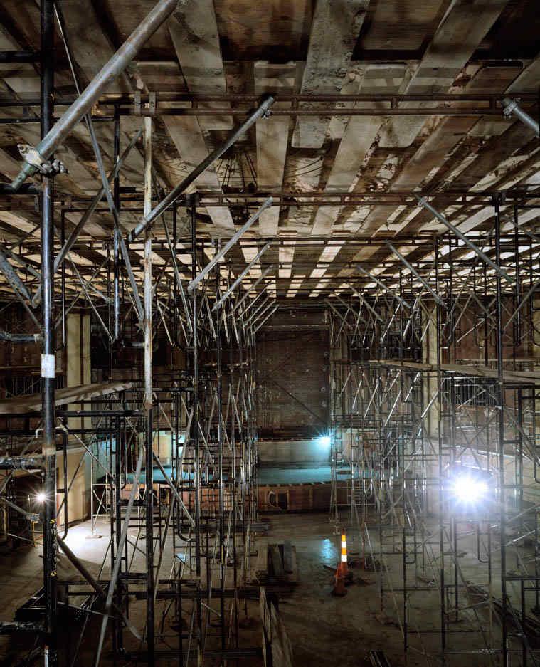 The Capitol Theatre Renovation, ca. 2008