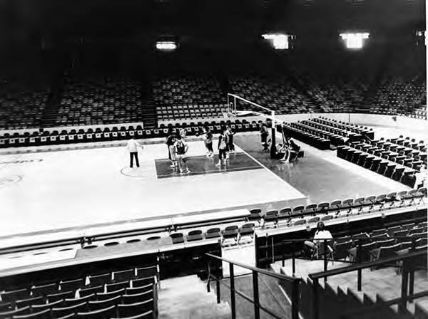 Cavaliers Practice at Coliseum