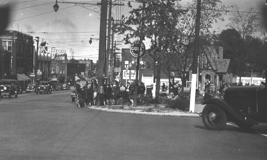 Crossing Coventry, 1934