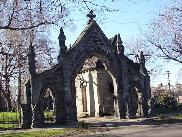 Cemetery Entrance Archway