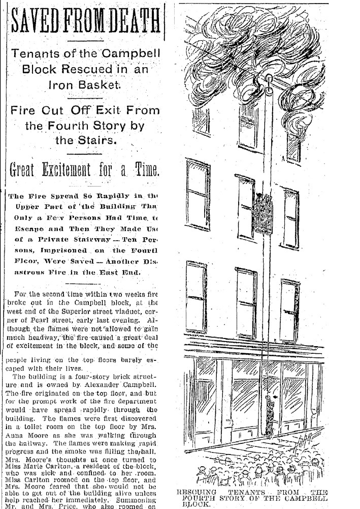 A New Type of Fire Escape