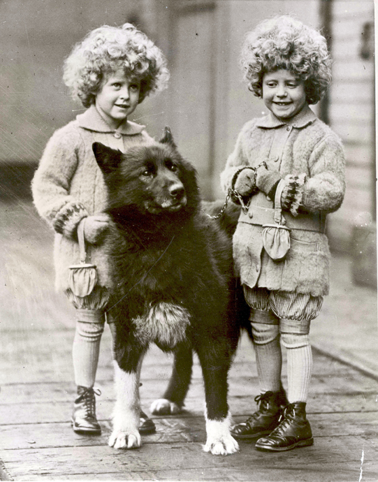 Balto and Quackenbush Twins, 1925