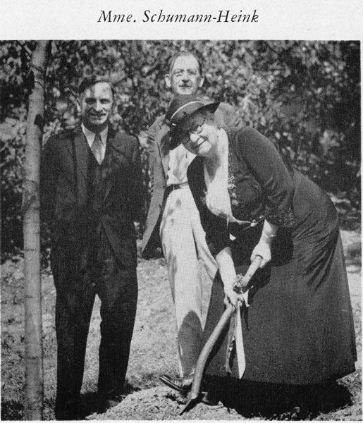 Tree Planting Ceremony, Sep. 1933