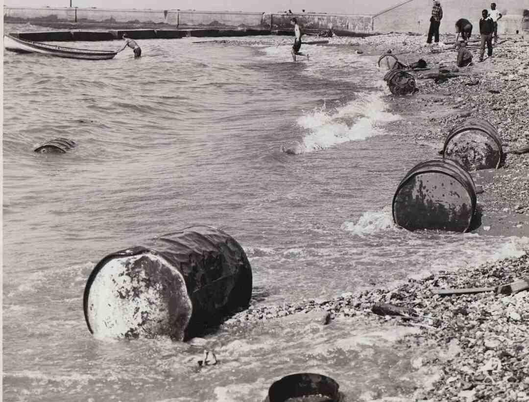 Gordon Park Beach, Oct. 1954