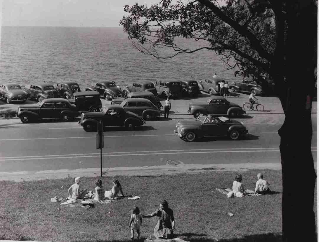 Gordon Park, August 1945