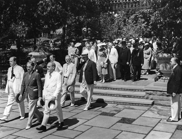 Dedication Ceremonies, 1938
