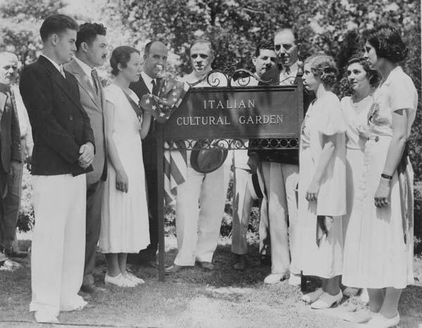 Marker Dedication, June 1934