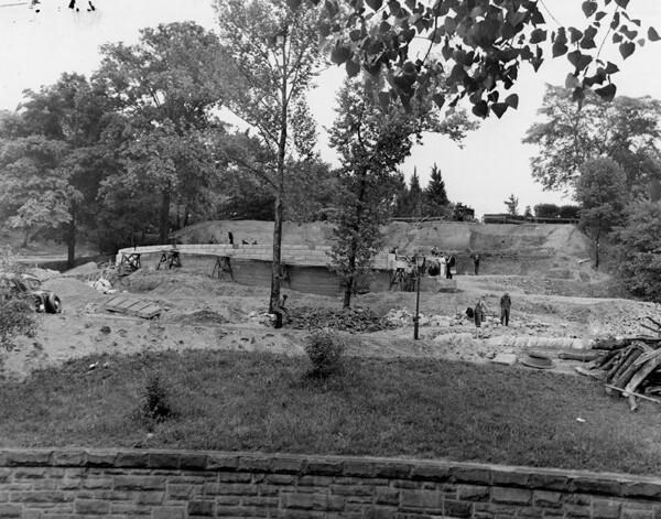 Amphitheater Construction, June 1939