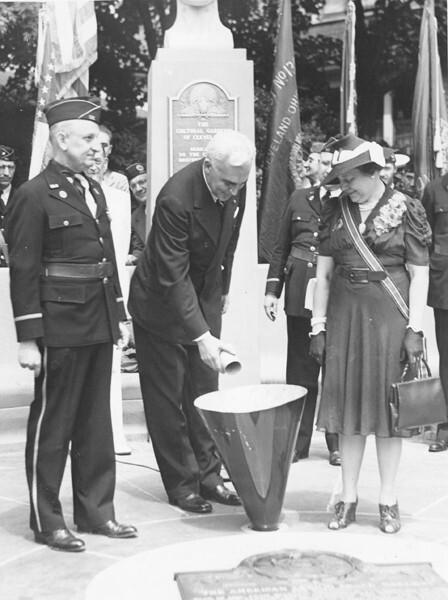 Adding Soil to the Crypt, 1939