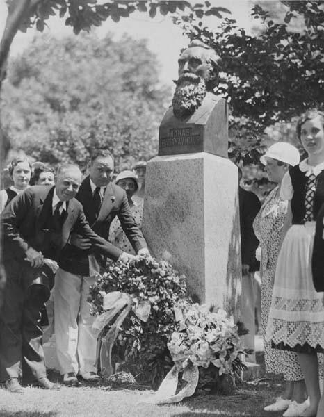 Garden Dedication, 1936
