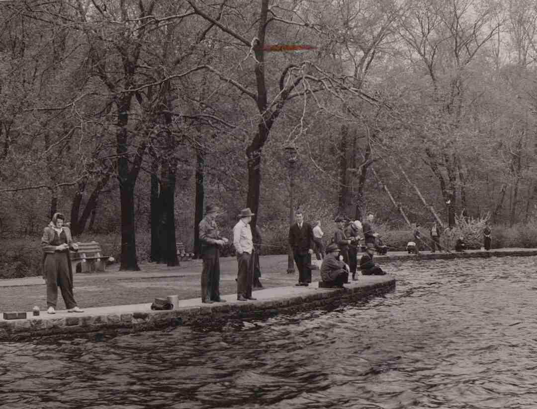 Fishing, May 1943