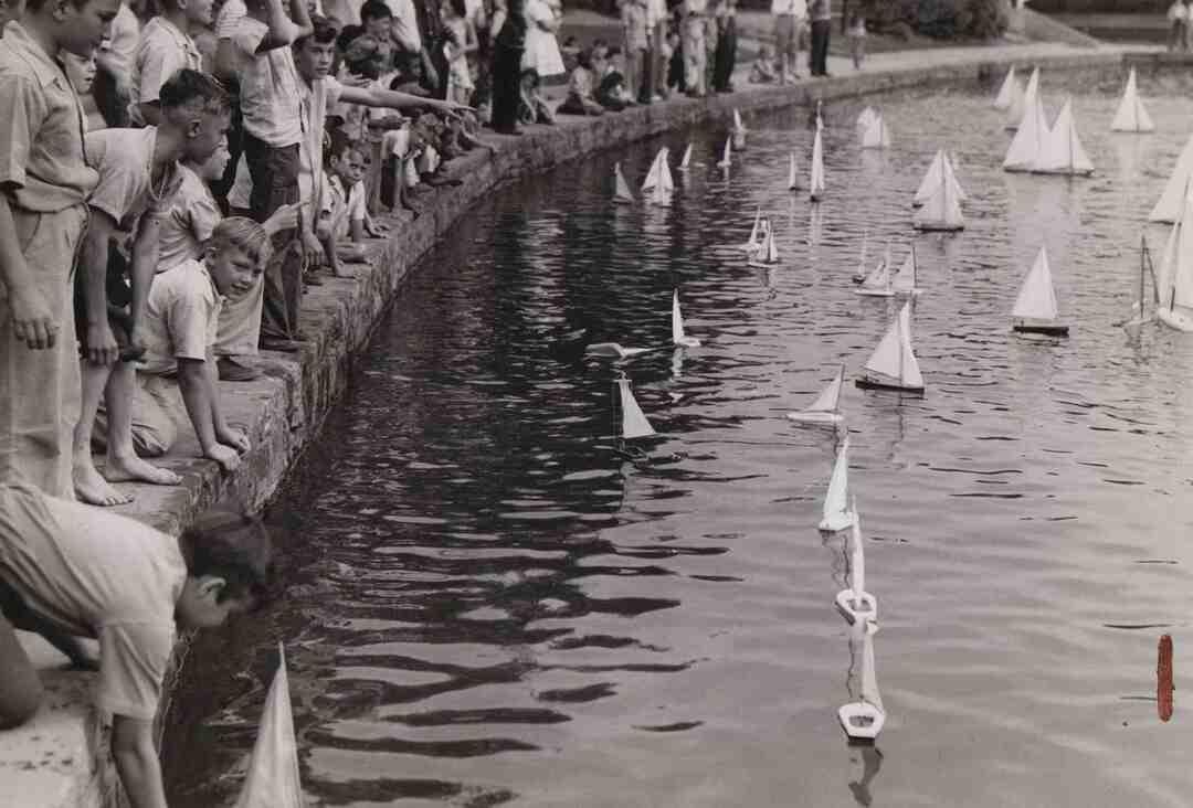 Toy Sailboats, 1943