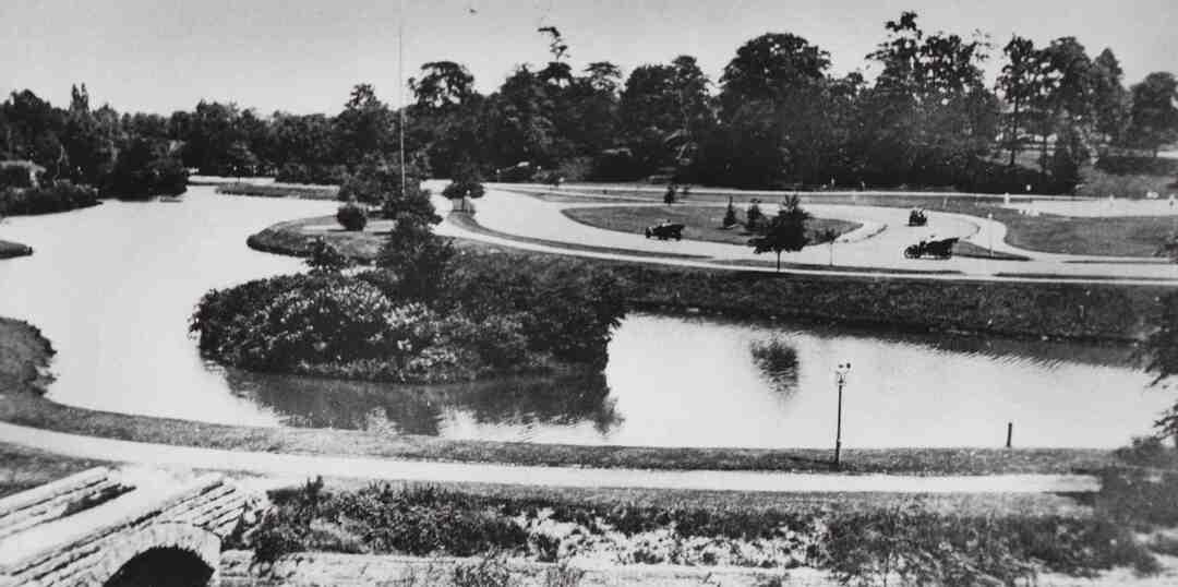Rockefeller Park Lagoon, 1912