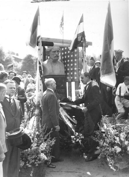 Njegos Unveiling, 1936