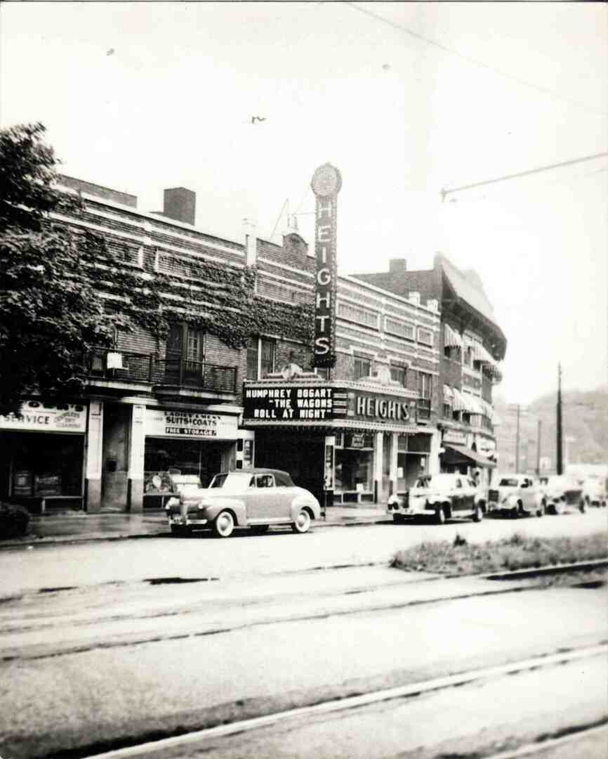 Heights Theater, 1941