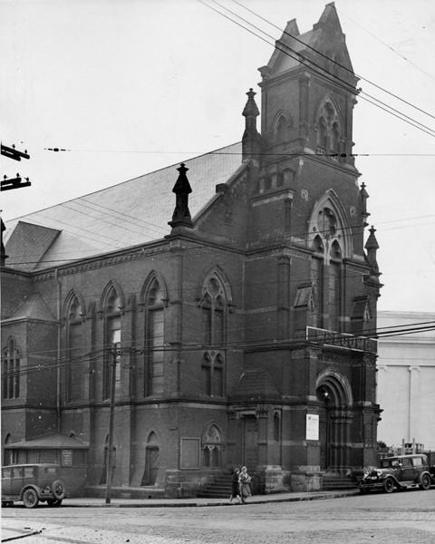 Franklin Circle Church - 1932