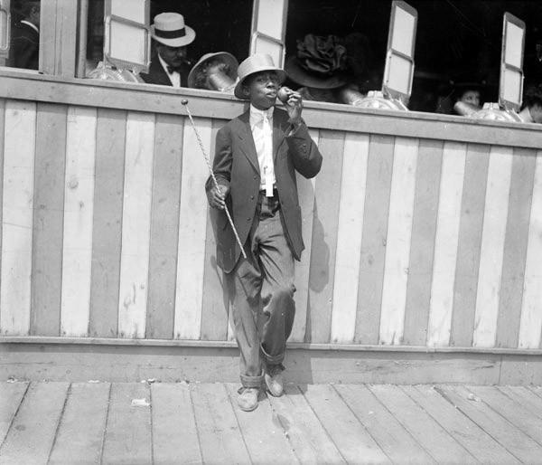 Newsboy at Euclid Beach