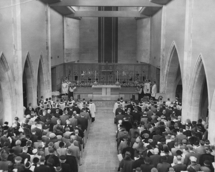 Nave Dedication, 1951