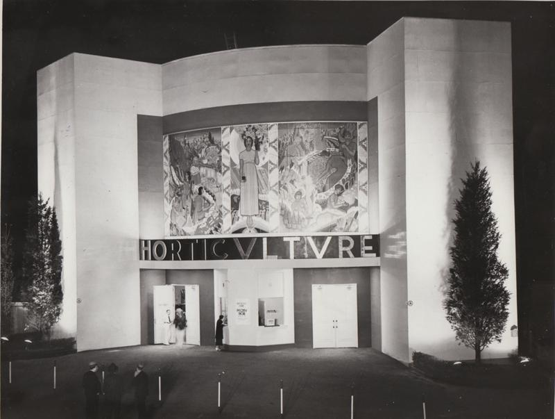 Horticulture Building, 1936