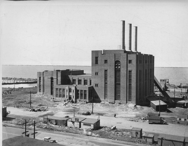 The Cleveland Municipal Light Plant in 1941