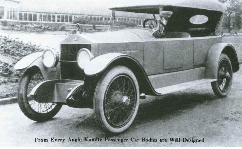 Theodore Kundtz Co. Car