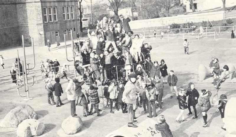 View of Lower Playground, ca. 1971
