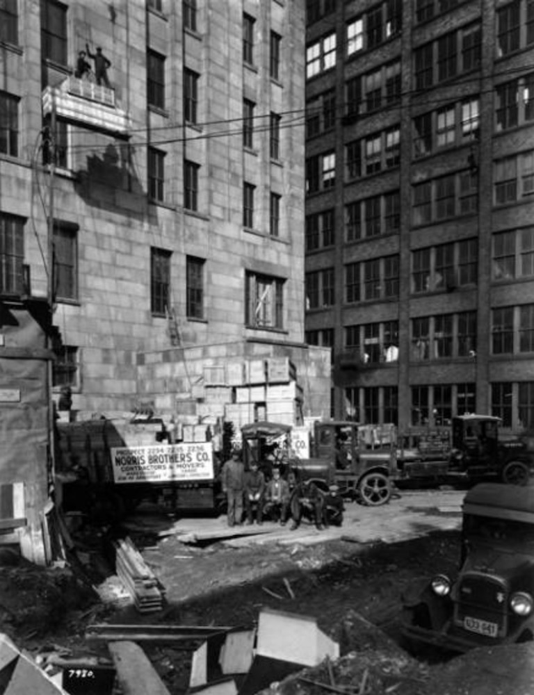 Construction of Building, 1927