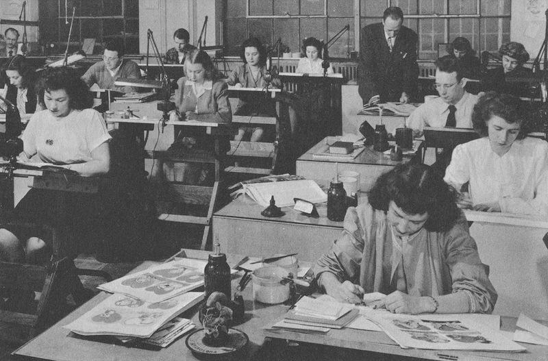 American Greetings Publishers Art Department, 1946