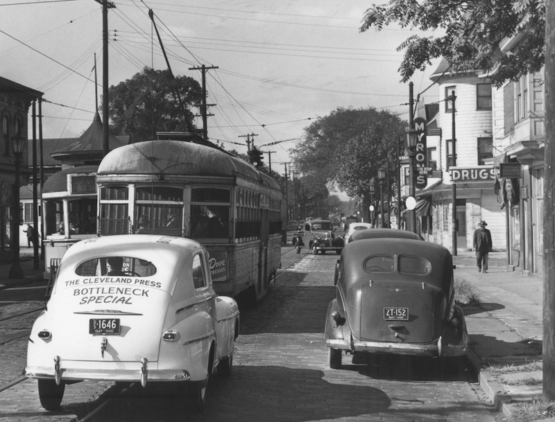 Detroit Avenue and W. 58th Street, 1947