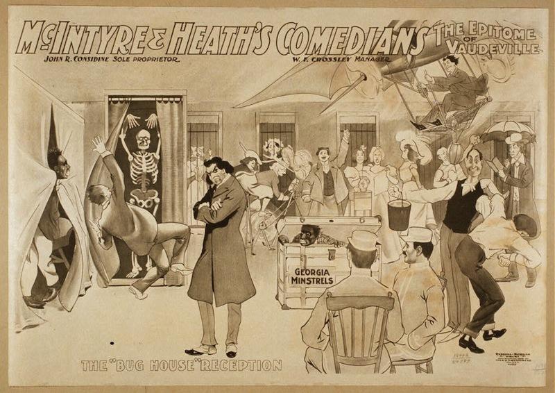 Vaudeville Advertisement, ca. 1899