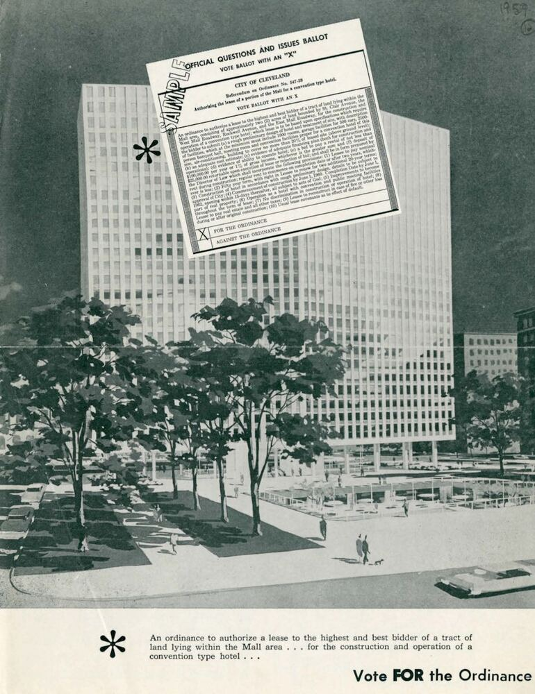 Promotional Material for Mall Hotel