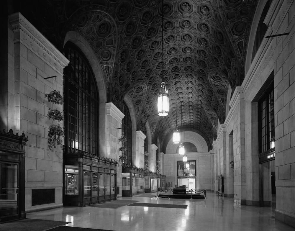 Union Terminal Portico