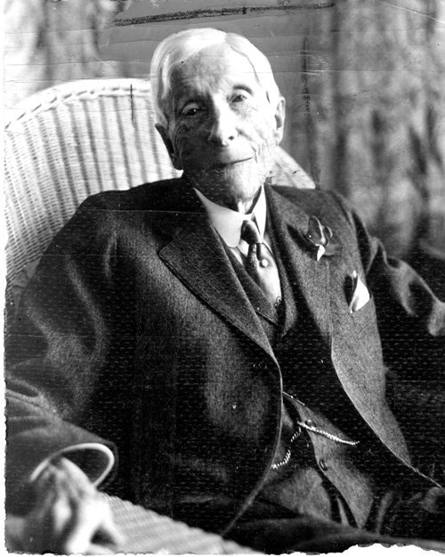 John D. Rockefeller at age 87