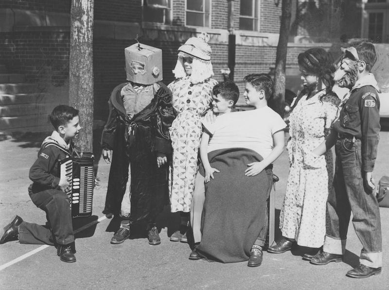 Freak Show at Shaker Carnival, 1951