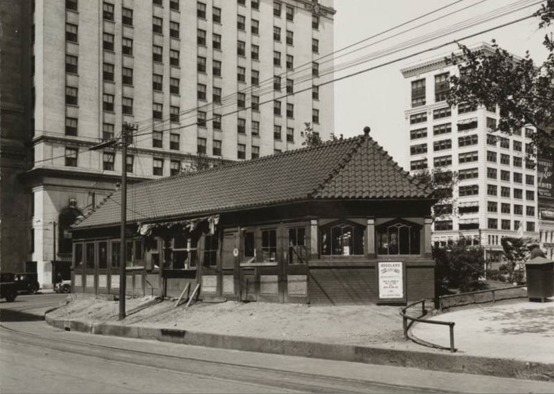 Dilapidated Comfort Station, 1926