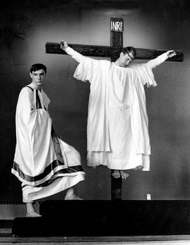 Passion Play at St. Dominic, 1956