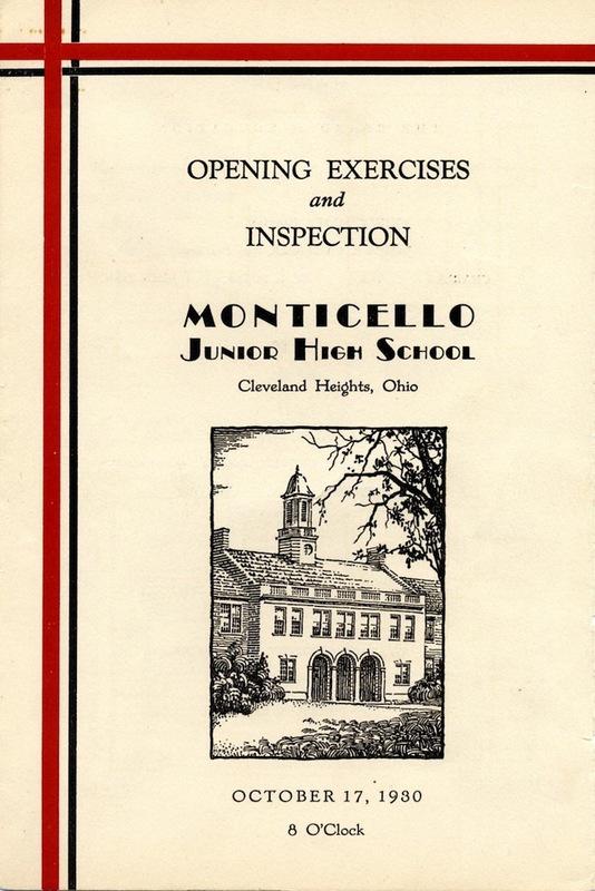 Opening Day Program, 1930