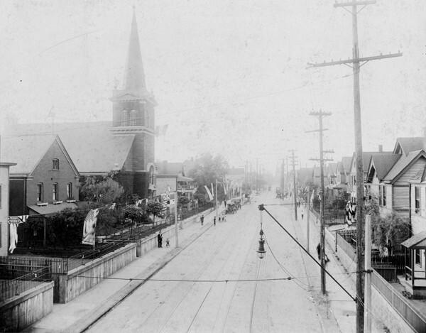 View of Buckeye Road, 1916