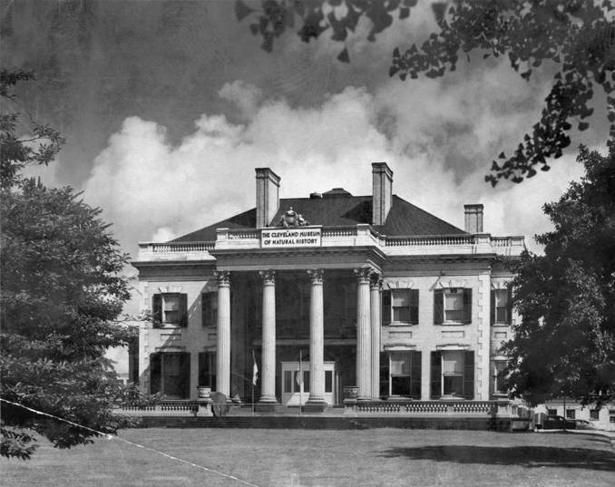 Cleveland Museum of Natural History in the former Leonard Hanna Mansion, 2717 Euclid Avenue