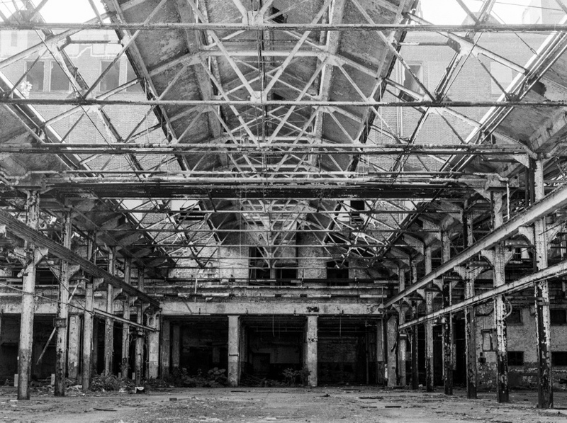Abandoned Warner and Swasey Factory