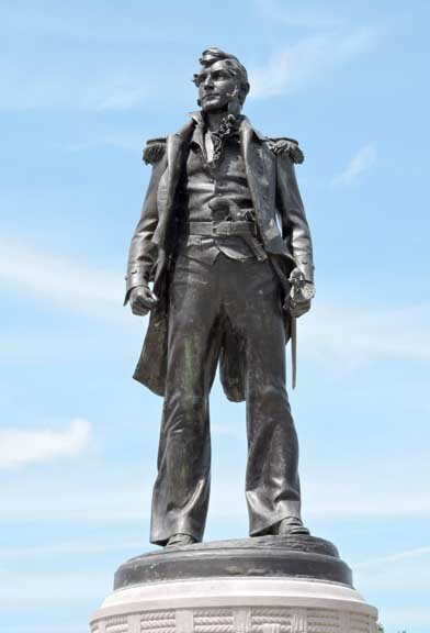 Commmodore Perry Statue at Buffalo's Front Park