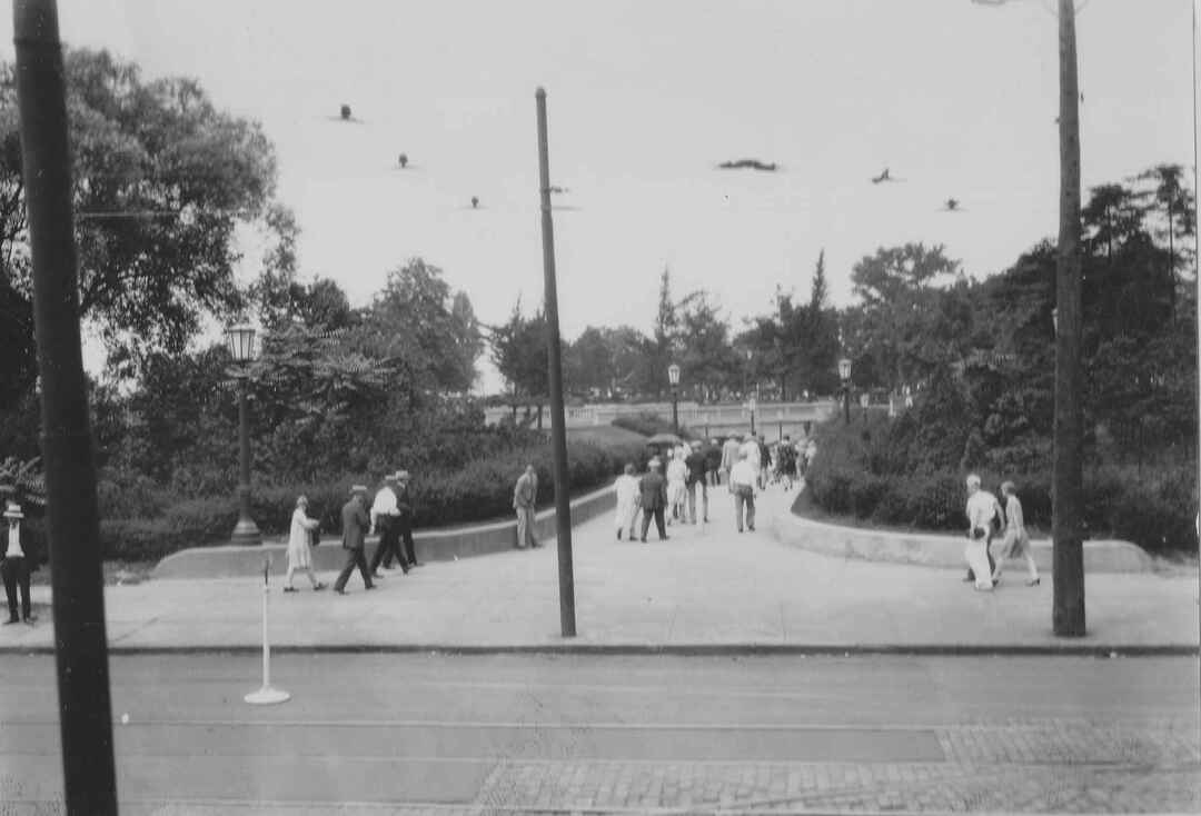 Entrance to Edgewater Park, 1929