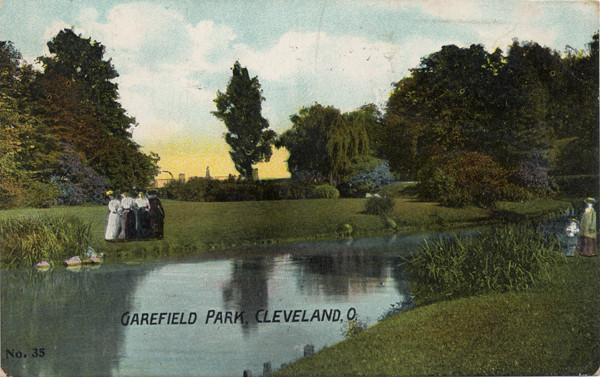 Garfield Park Postcard, 1908