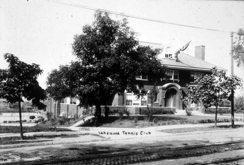 Lakewood Tennis Club, ca. 1915